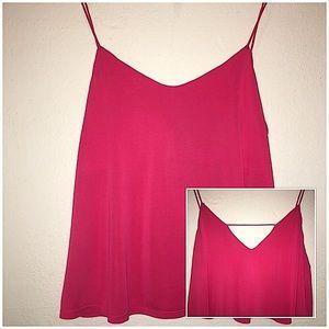 Pink Cutout Cami